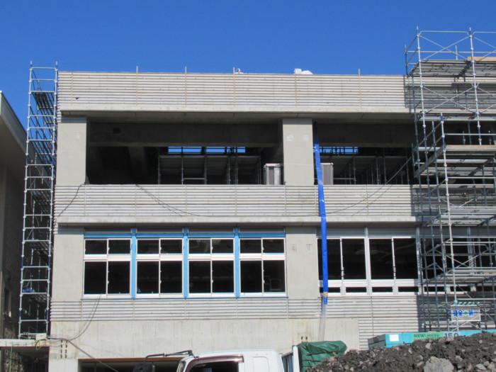 RC3階建て屋上解体完了
