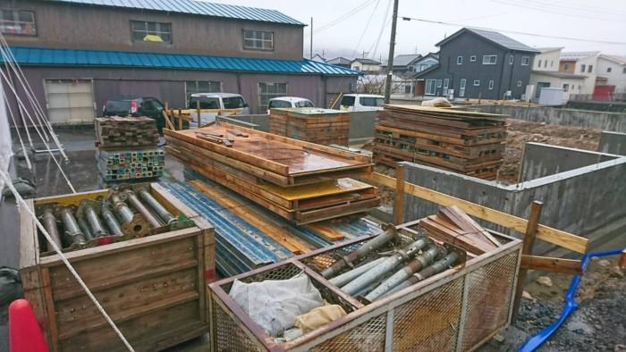 木造基礎解体完了